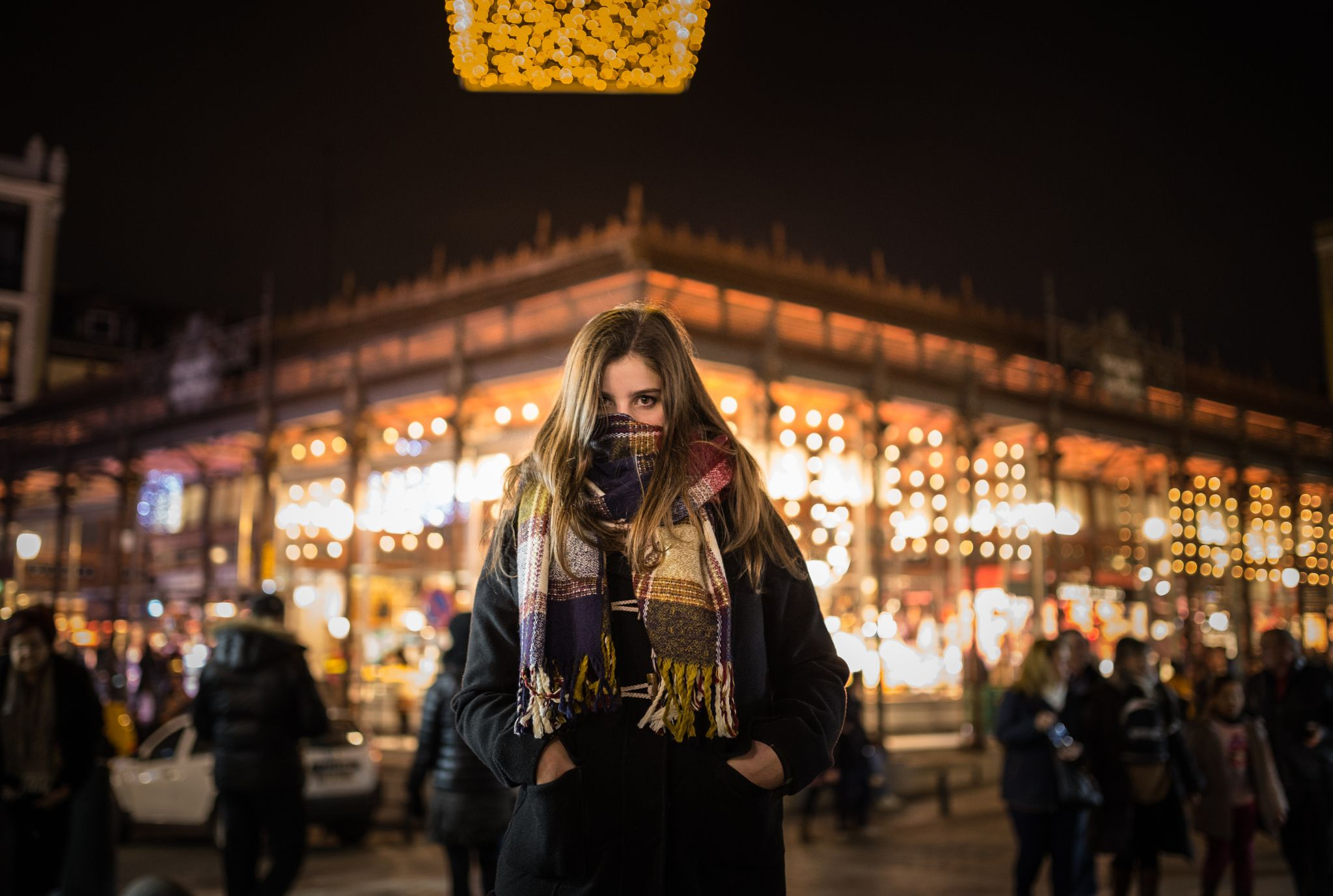 Winter lights - Mercado de San Miguel