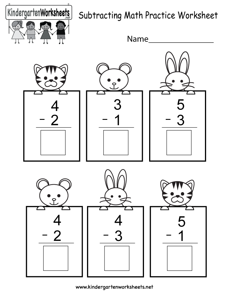 Worksheets Subtraction Worksheets Kindergarten this is a cute subtraction worksheet for kindergarteners you can download print or use it online