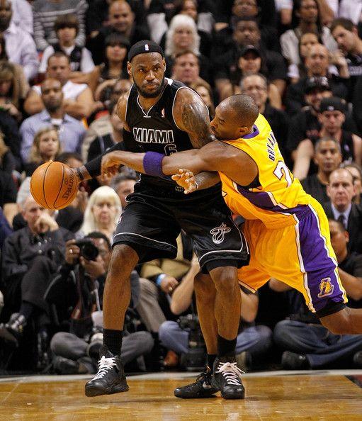 Kobe Bryant Photos Los Angeles Lakers V Miami Heat Kobe Bryant Kobe Bryant Black Mamba Kobe Lebron