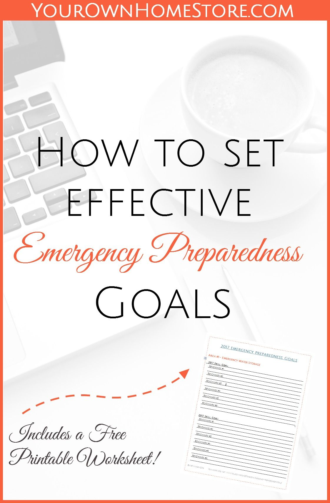 How To Set Effective Emergency Preparedness Goals
