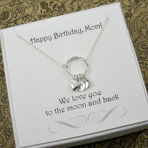 Birthday Gifts For Mom Personalized Mother By StarringYouJewelry