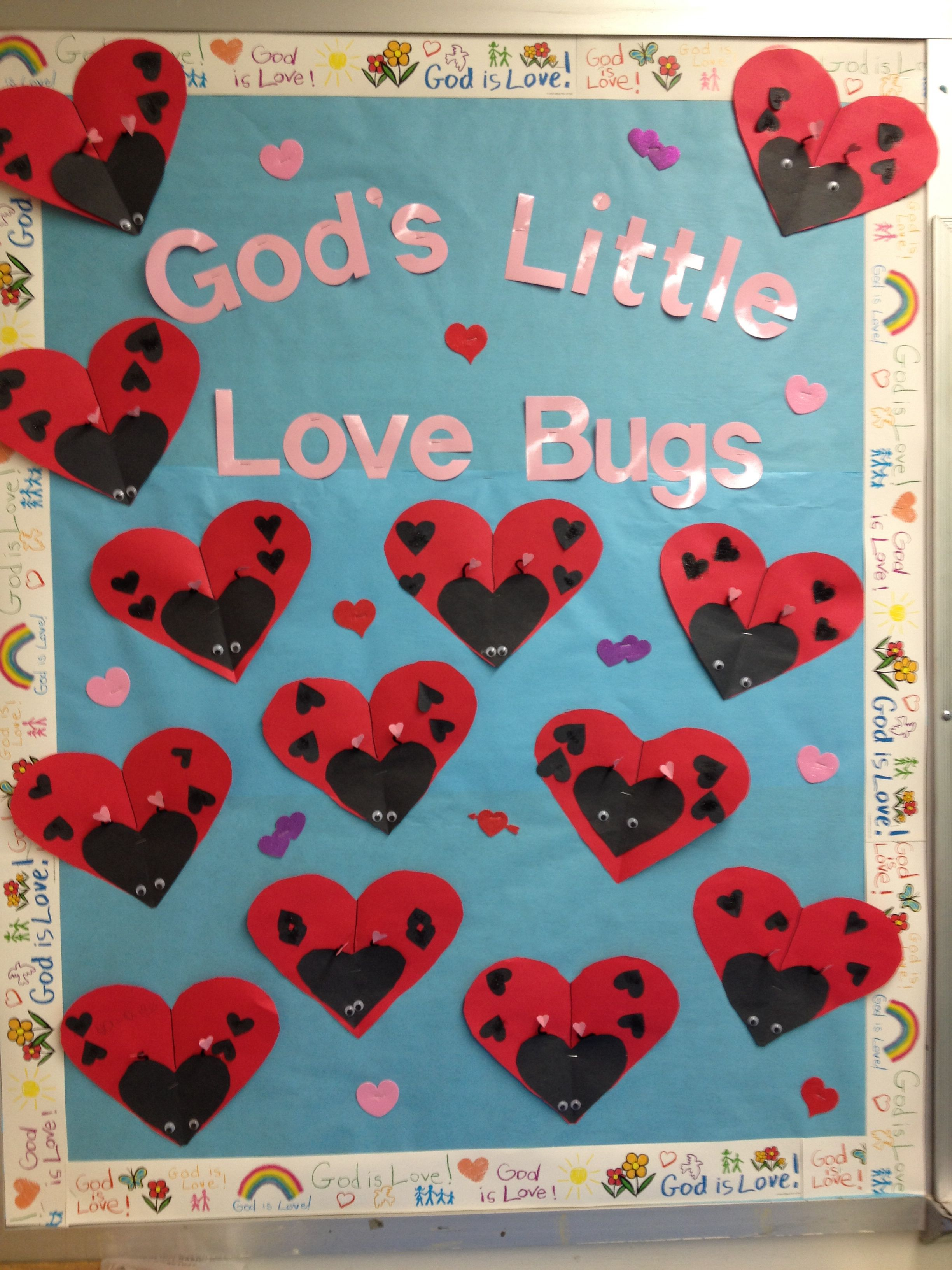 Valentines Day Bulletin Board 2014 Kinder Valentines Day