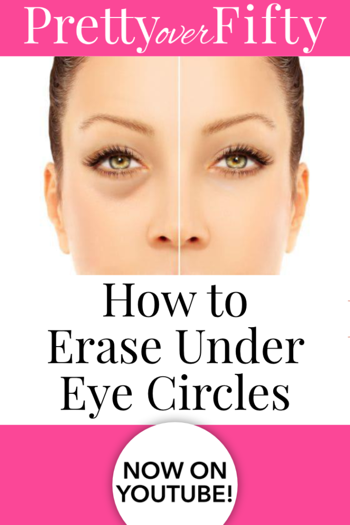 How to Use Under Eye Concealer Pretty Over Fifty