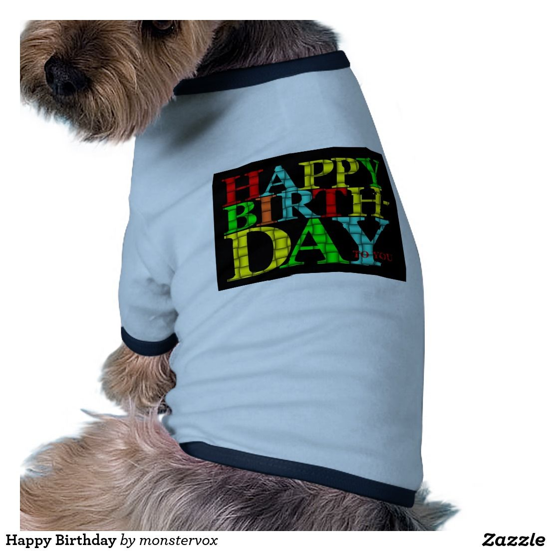 Happy Birthday Dog T Shirt Pet Tshirt