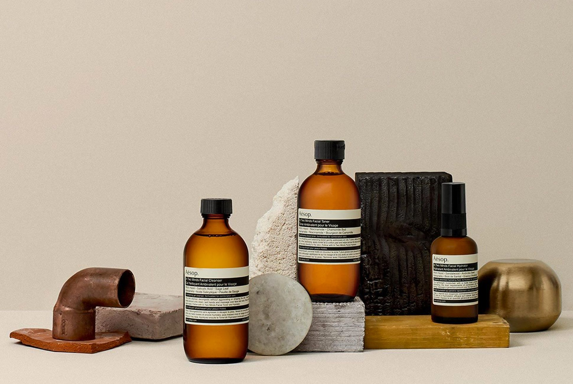 Aesop S Grooming Products Address A Major Skincare Woe Gear Patrol Aesop Skincare Combination Skin Type Combination Skin
