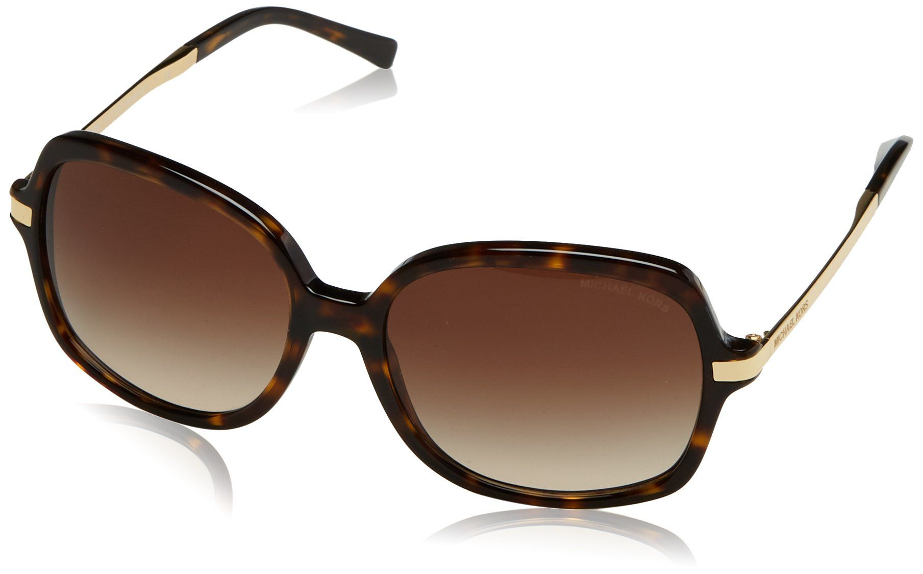 65d363b4d8d Michael Kors MK2024 310613 Dark Tortoise Adrianna II Butterfly Sunglasses  Lens     Find out more about the great product at the image link.(It is  Amazon ...
