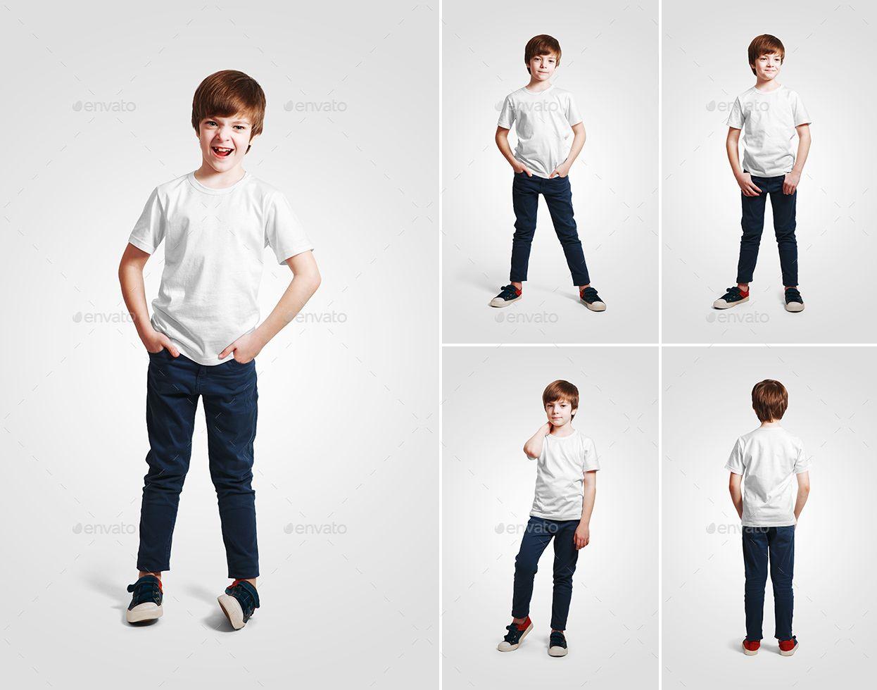 Download Kids Boy T Shirt Mockups Vol2 Part 1 Boys T Shirts Shirt Mockup Kids Boys