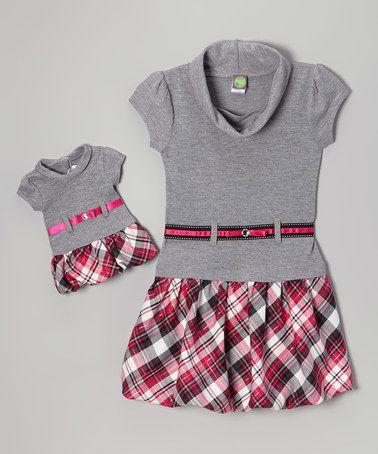 Enfant Bébé Fille Automne Tenues Tricot Sweat Robe Vêtements One-pieces