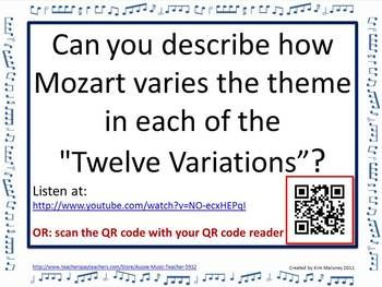 Music Form: Theme and Variations Form in Music | Music education ...