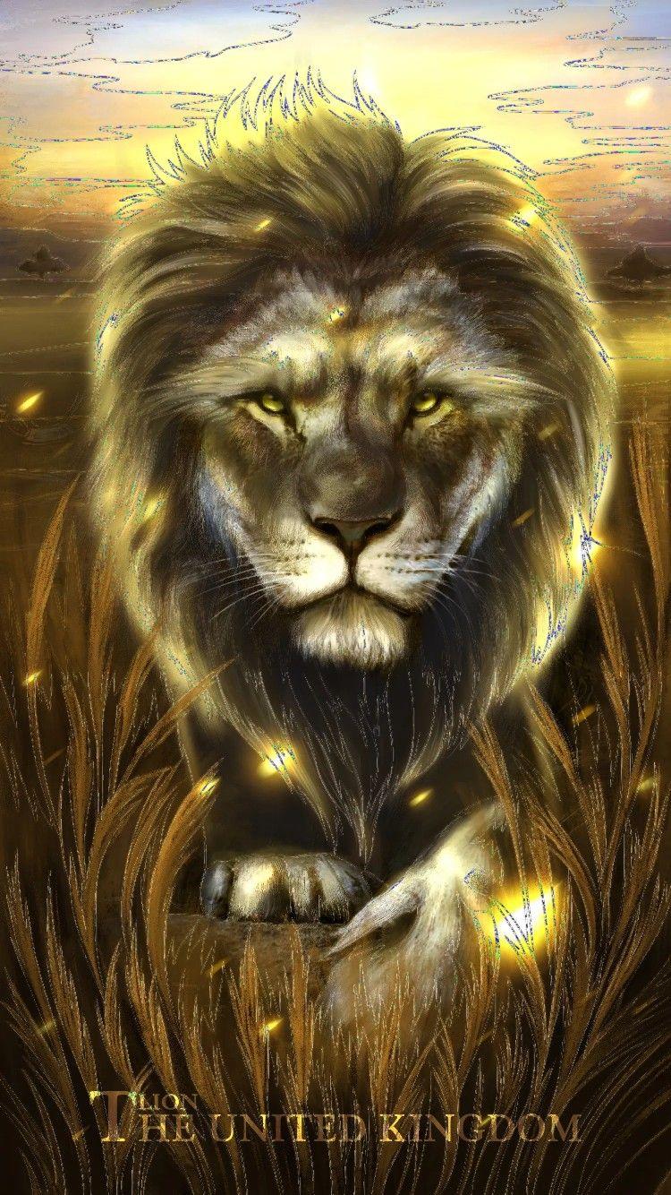 Fond D Ecran Lion Artwork Animals National Animal