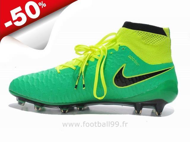 online retailer 5df9c 96905 Nike Magista Obra FG Vert Hyper perforation Magista Crampon