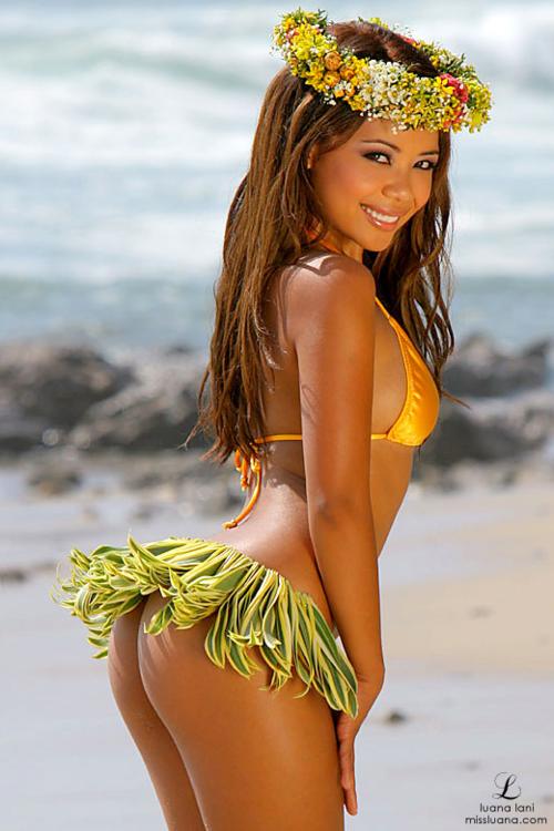 Wide butt hawaiian babes nude