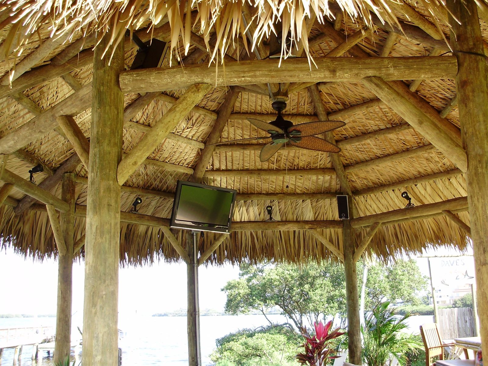 backyard tiki huts