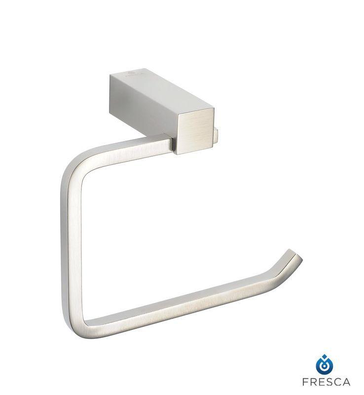 Dyconn Faucet Bdytph Bn Daytona Series Modern Toilet Paper Holder Brushed Nickel Tools Home Improvement Bathroom Hardware
