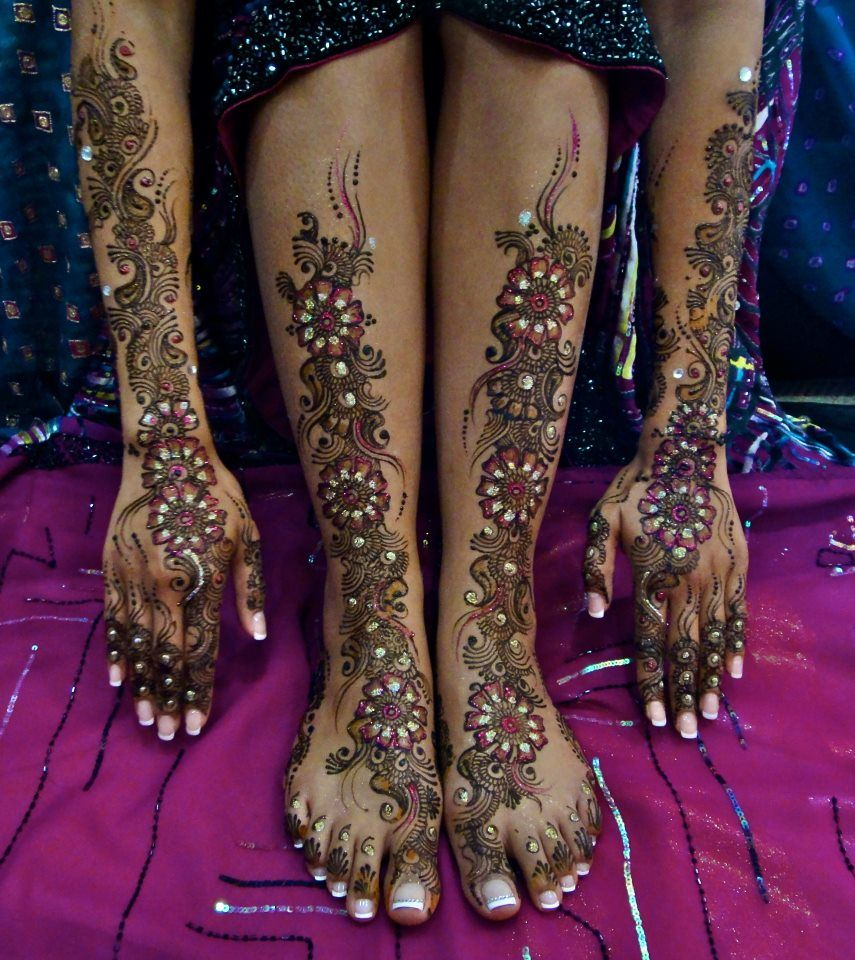 East Indian Henna Tattoo: Mehndi Designs, Mehndi Designs