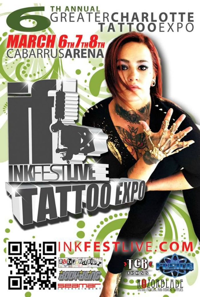 6th Annual Greater Charlotte Tattoo Expo InkFest Live Tour