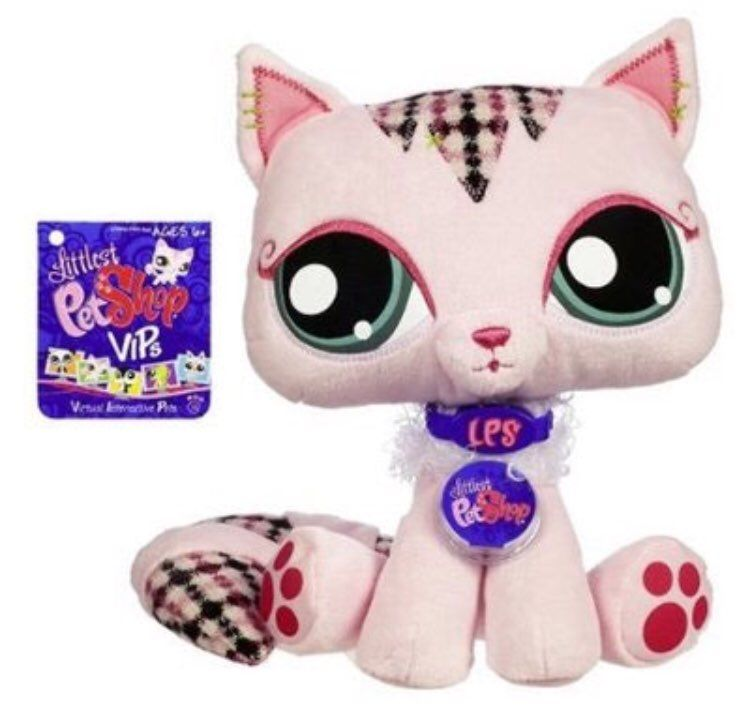 The Littlest Pet Shop VIP is a cute plush animal that