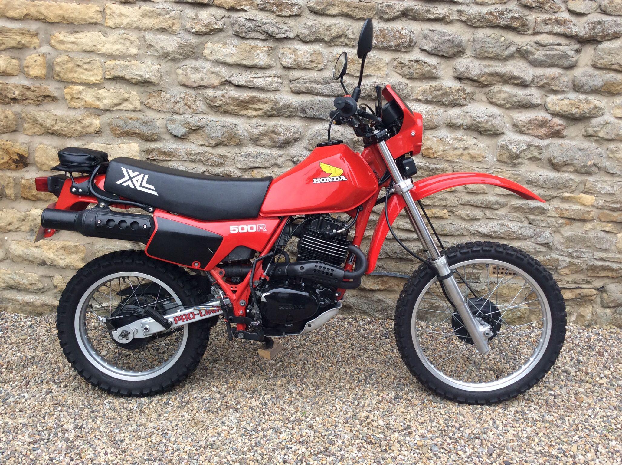 1983 Honda XL500R
