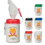 Mini Wet Wipe Canister Wet Wipe Hand Sanitizer Canisters