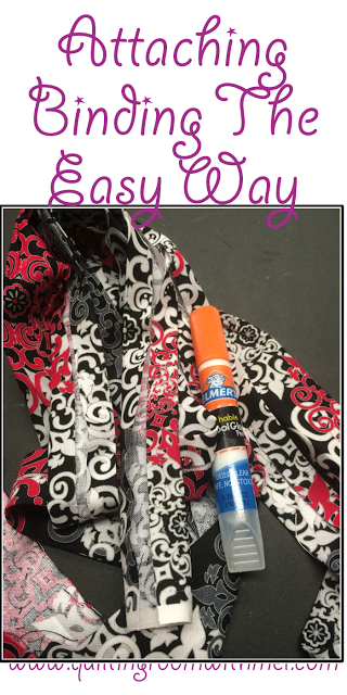 Attaching Quilt Binding The Easy Way Quilt Binding Easy And Diy Ideas