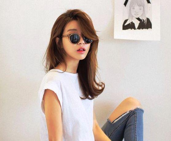Best Korean Hairstyles For Women 2015 Trend Hairstyles Pinterest Korean