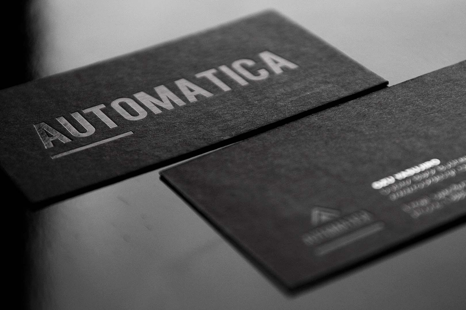 Black Business Cards Design 1 | Businesscards | Pinterest | Black ...
