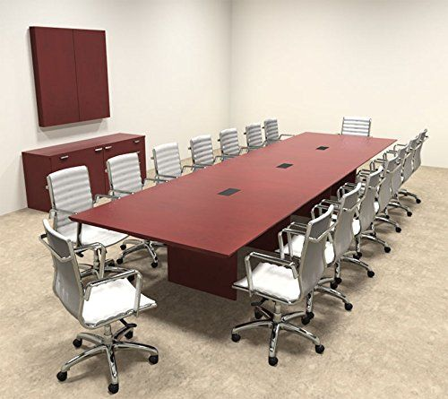Wood Modern Rectangular Shape Feet Conference Table Https - 16 foot conference room table
