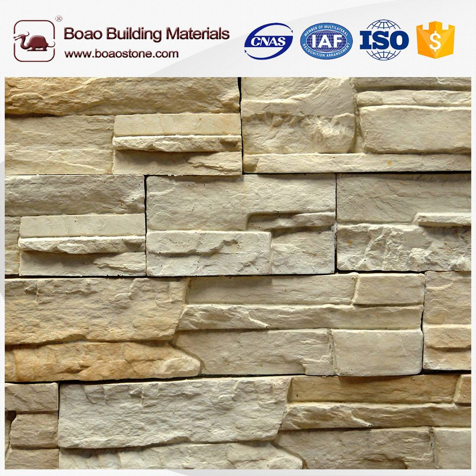 Fire Resistant Old Red Brick Faux Stone Wall Panel Faux Stone
