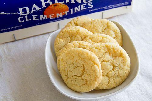 clementine sugar cookies
