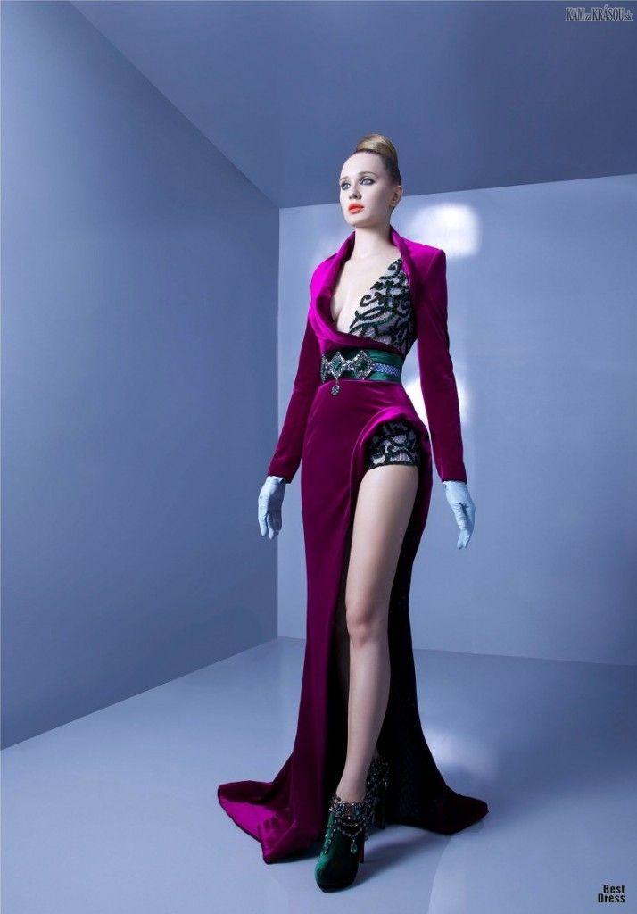 #kamzakrasou #sexi #love #jeans #clothes #dress #shoes #fashion #style #outfit #heels #bags #blouses #dress #dresses #dressup #trendy #tip #new #kiss Predstavujem vám prvú časť módnych kúskov značkyNicolas Jebranz kolekcieReady-to-wear HAUTE COUTURE.  Zakladateľtejto módnej značky je libanonský módny dizajnér.  Kolekciu vytvor