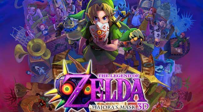 The Legend Of Zelda Majora S Mask 3d Rom 3ds Eur Usa Cia