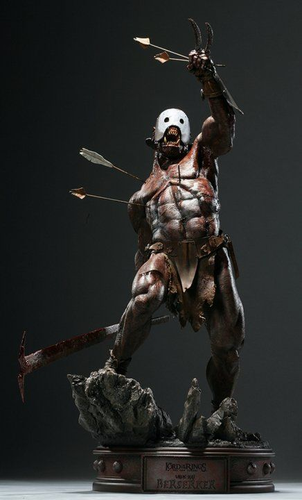 Uruk Hai I M Thinking Done By Weta Maquette One Off