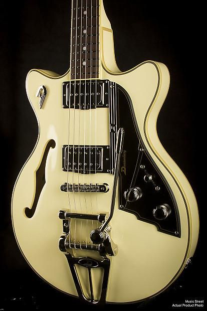 Duesenberg Starplayer Tv Fullerton Vintage White In 2020