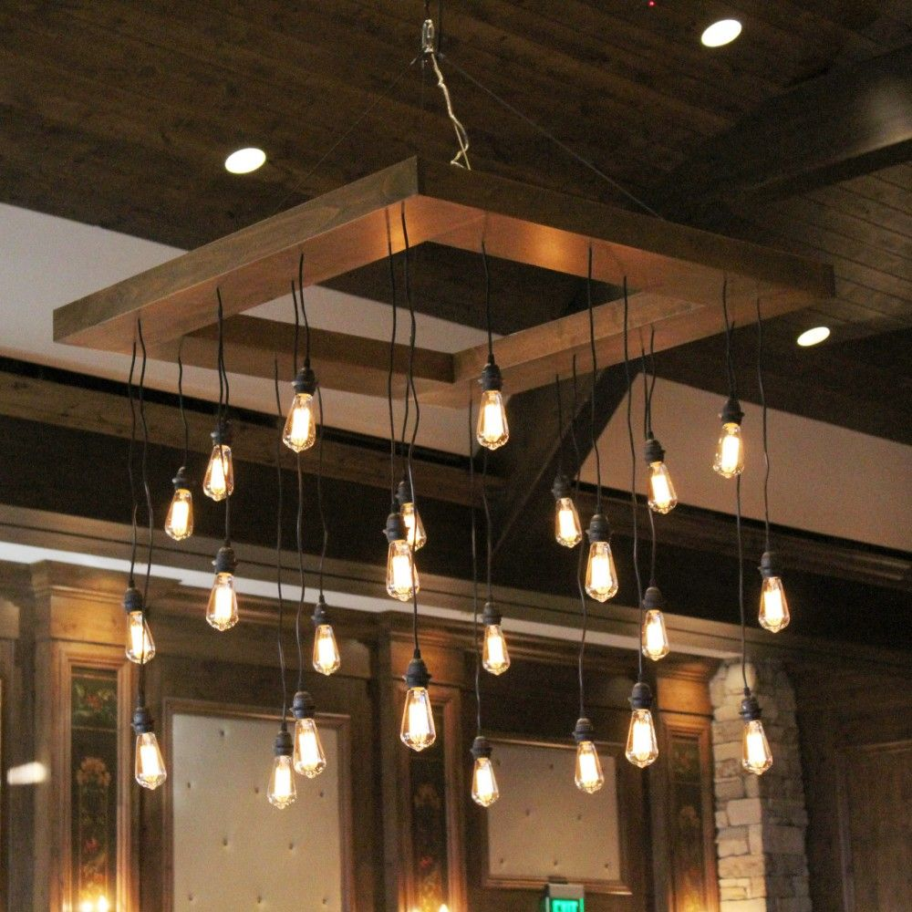 Edison Bulb Chandelier Light Bulb Chandelier Edison Bulb