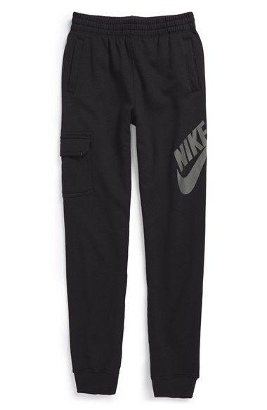 Nike 'SB' Slim French Terry Jogger Pants (Big ...