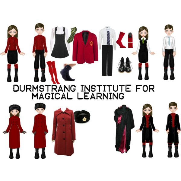 Durmstrang Institute For Magical Learning Clothes Design Themed Outfits J By Jasper Conran Durmstrang is one of the oldest magical schools and is steeped in history so in todays video i'm going to take you through the schools beginnings. durmstrang institute for magical
