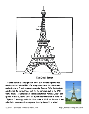 Fritters coloring page teachable moments in december december worksheets and coloring pages the eiffel tower coloring page thecheapjerseys Gallery