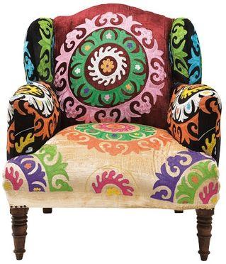 Butaca mandala tienda on line de muebles vintage retro for Tiendas de muebles para restaurantes