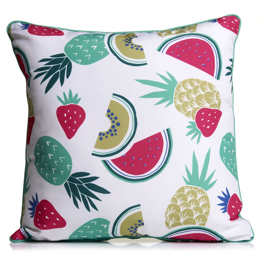 Wilko Outdoor Scatter Cushion Fruits Repeat | Style❣ | Pinterest