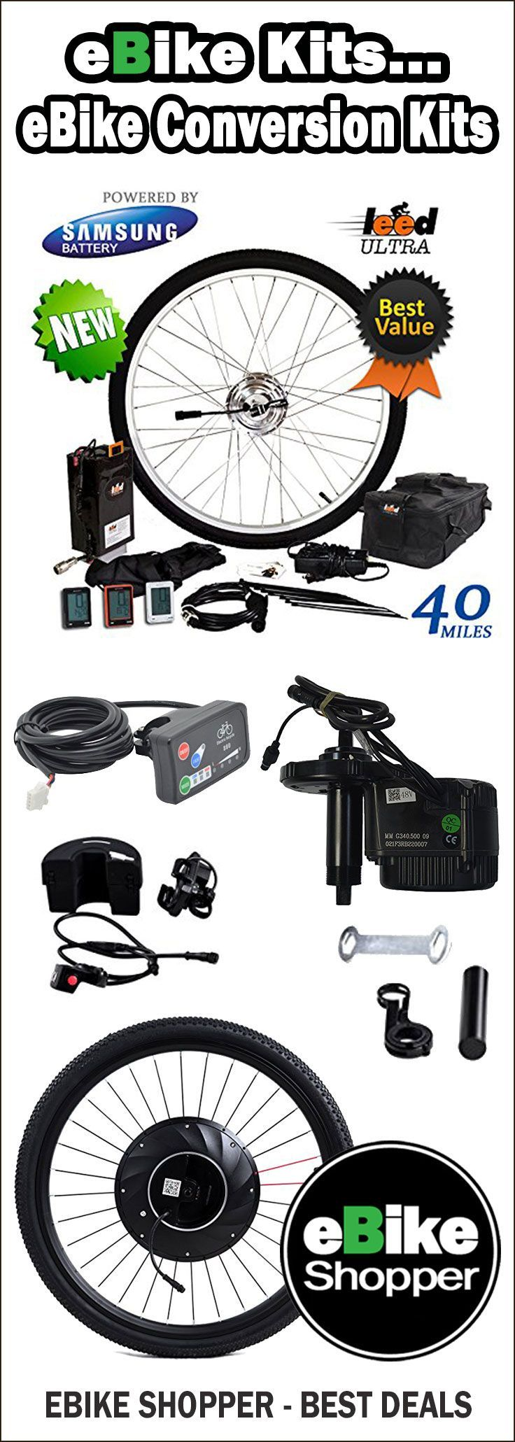 Voilamart Electric Bicycle Kit 26 Zoll Hinterrad 48 V 1000 W E Bike Umbausatz Radnabenmotor Mit Pas System F Electric Bike Conversion Electric Bike E Bike Kit