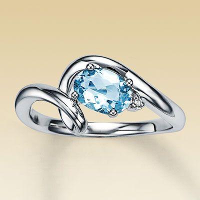 My aquamarine ring!