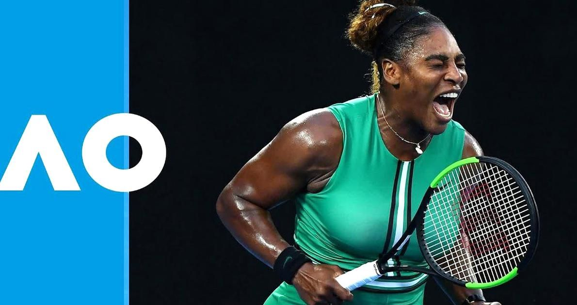 Serena Williams Moved Into The Quarter Finals With A Win Over World No1 Simona Halep 6 1 4 6 6 4 Which Looked Ear In 2020 Tennis Champion Us Open Final Serena Williams