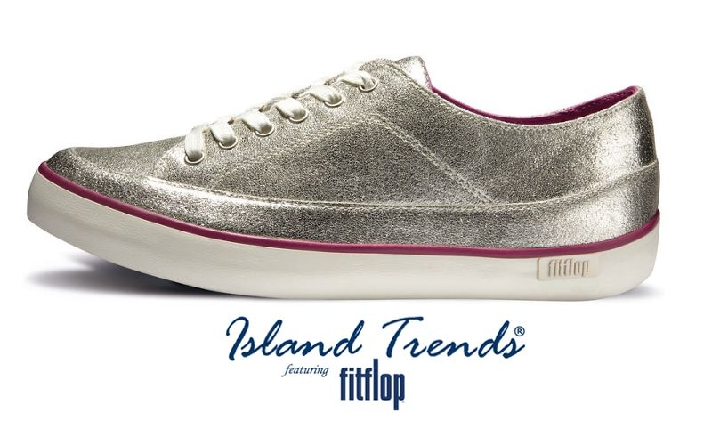75646f28cd53 Lace up in Fit Flop Platinum Sneaker http   www.islandtrends.com