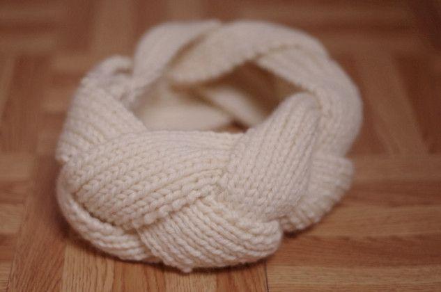 Tuto : fabriquer un headband tressé