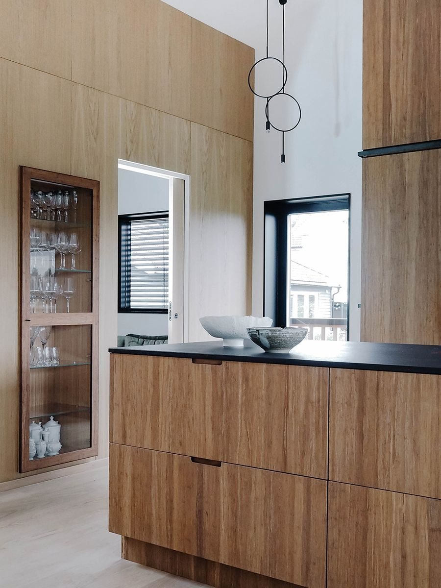 Oslo House With Bamboo Kitchen Bamboo Kitchen Cabinets Modern