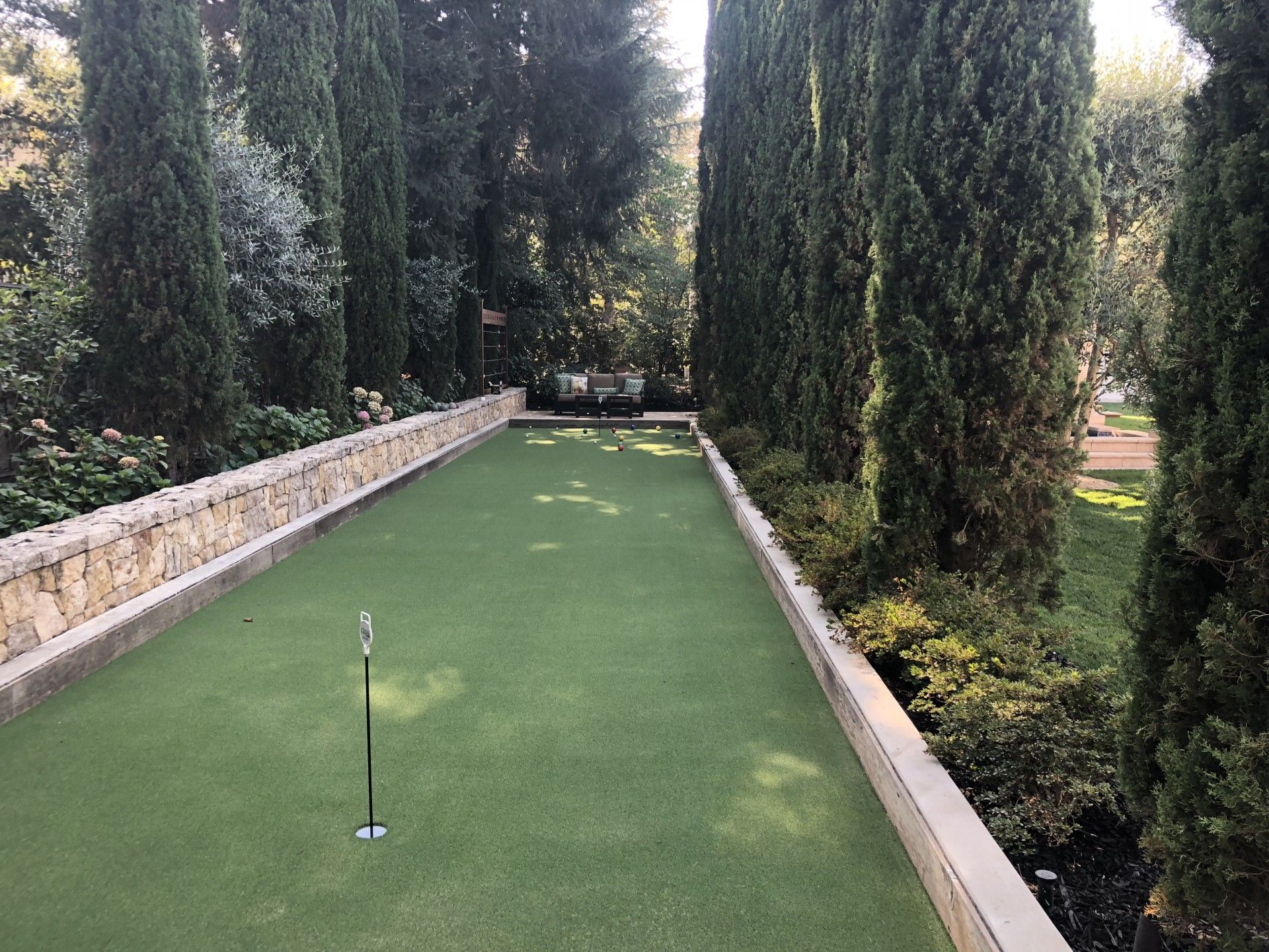 6-Hole Putting Green & Hybrid Bocce Ball Court - Saratoga ...