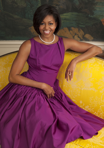 #FLOTUS. she is sooo pretty!!! One of my students said we look alike..I was highly flattered!
