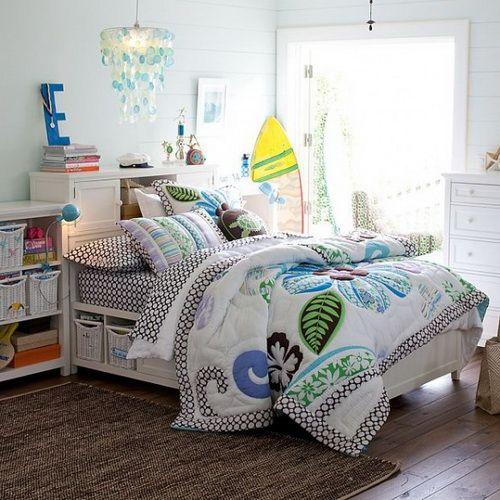 Charmant Beach Themed Bedding   Beach Themed Teenage Girls Bedroom Designs