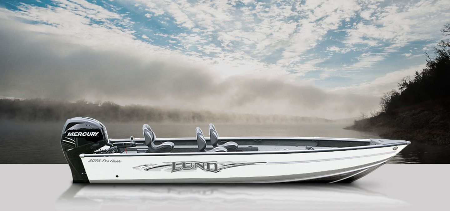 Lund Boats Aluminum Fishing Boats 2075 Pro Guide
