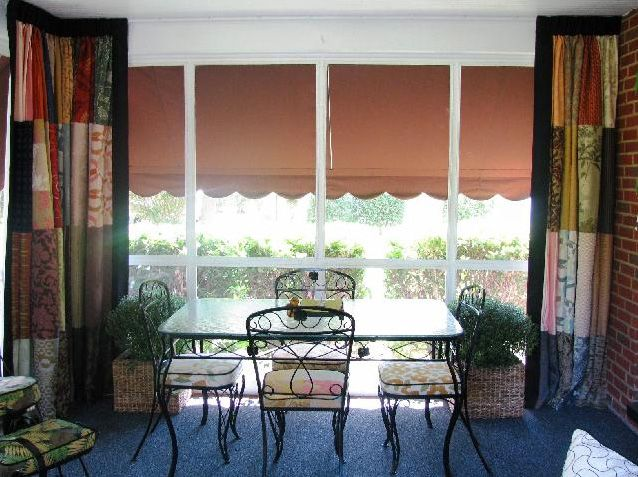 This is from our new line of bendable rods. It's highly bendable, multipurpose curtain track system that can be quickly customized to fit any wall shape or ceiling curvature. These rods are for bay windows, shower rods, porches, RV's, Room Dividers and more! Everything you need to install comes in the kit.  *Special Discounts for Pinterest Members! Call Today or Email to receive a brochure!  317-273-8343  www.abdawindowfashions.com talitha@abdawindowfashions.com